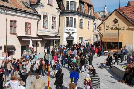 Visby Centrum – Hansestaden & Östertorg