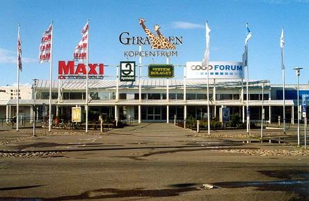 Giraffen Köpcentrum